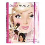 034 Creative - artista de maquillaje creativo con el libro del estilo, Rose