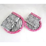 Pink Black Zebra Party Decoration Tableware Napkins Paper Plate Bundle