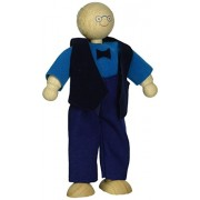 Plan Toys Dollhouse Series Grandfather Doll