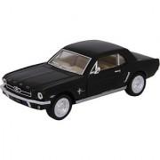 Baby Steps Kinsmart Die-Cast Metal 1964 1/2 Ford Mustang (Black)