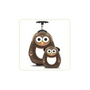Set PIPI the Owl - Valiza tip trolley si ghiozdan (rucsac)
