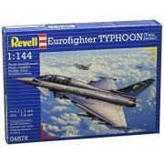 Revell -Modellino Aereo Eurofighter Typhoon Twinseater Scala 1:144 - RV04879