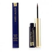 Double Wear Zero Smudge Liquid Eyeliner - #02 Brown 3ml/0.1oz Double Wear Zero Smudge Течна Очна Линия - #02 Кафява
