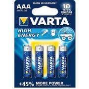 Baterii Varta 4903121414 AAA Alkaline, 1.5V
