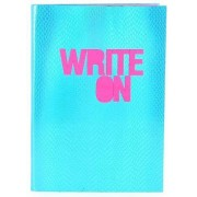 House of Holland Fabric Notebook (Blue)