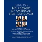 Barron's Dictionary of American Sign Language by Geoffrey S Poor