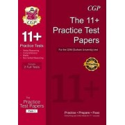 11+ Practice Test Papers for the Cem Test by CGP Books