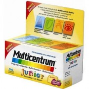 Multicentrum Complemento Alimenticio Junior , 30 un