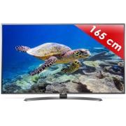 Televizor LED LG 65UH661V Smart, 164 cm, 4K UHD, HDR, Argintiu/Negru