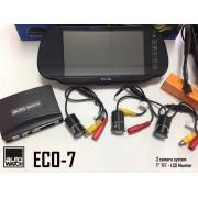 "Asistenta la Parcare AUTOWATCH ECO-7 cu 3 Camere Video si Monitor LCD 7"""