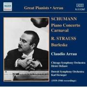 Schumann/ Strauss - Burlesque/ Piano Concerto/ (0747313326525) (1 CD)