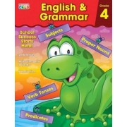 English & Grammar Workbook, Grade 4 by Brighter Child