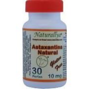 Astaxantina Natural 10mg 30 Perlas
