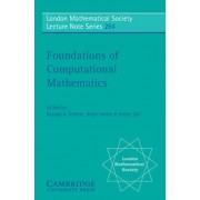 Foundations of Computational Mathematics by Ronald A. DeVore