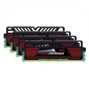 Memorie GeIL EVO Potenza 32GB (4x8GB) DDR3, 1600MHz, PC3-12800, CL11, Dual/Quad Channel Kit, GPB332GB1600C11QC