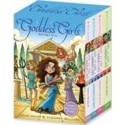 Goddess Girls Books #1-4 (Charm Bracelet Inside!) by Joan Holub