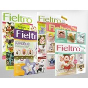 Pack Oferta 6 revistas de Fieltro