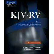 The KJV/RV Interlinear Bible Black Calfskin RV655X by Cambridge Bibles