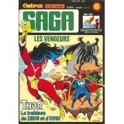 "Ombrax Saga N° 256 ( 10 Mai 1987 ) : "" L'ange Noir "" ( Les Vengeurs / The Avengers + Thor )"