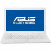 Laptop Asus VivoBook X541UA-GO1256 15.6 inch HD Intel Core i3-7100U 4GB DDR4 500GB HDD Endless OS White