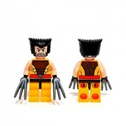 LEGO X-Men Marvel Super Heroes Wolverine Minifigure with Hair & Claws (76022)