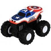 Hot Wheels Monster Jam Rev Tredz Captain America Die-Cast Vehicle by Hot Wheels