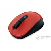 Mouse Microsoft Sculpt Mobile (43U-00025), roşu