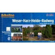 Fietsgids Bikeline Weser Harz Heide Radweg | Esterbauer