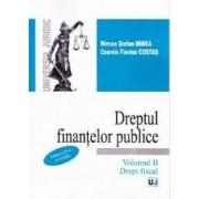 Dreptul finantelor publice vol.2 Drept fiscal - Mircea Stefan Minea Cosmin Flaviu Costas