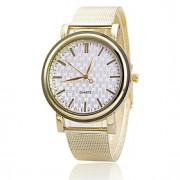 Mulheres Relógio de Moda Quartz Lega Banda Prata / Dourada marca-