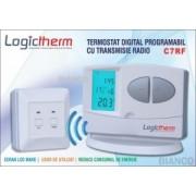 Termostat de ambient programabil fara fir Logictherm C7 RF