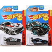 Hot Wheels Race Aston Martin Vantage GT3 Viper Speed Black World Race series 2015 Dodge SRT Viper GTS-R car Set in PROTECTIVE CASES
