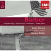 Leonard Slatkin - Barber: Odagio For Strings, 2nd & 3Rd Essays For Orch. (0724358656121) (2 CD)