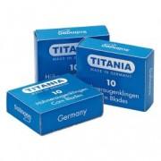 Titania Rezerve Lame Calcaie Solingen 3100 Spare Blades For Slicer 10 Bucati