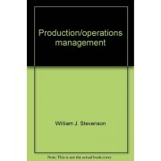 Production/Operations Management (The Irwin Series In Quantitative Analysis For Business)