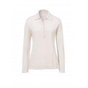 Peter Hahn Polo-Pullover aus reinem Kaschmir - Modell PAULA Peter Hahn Cashmere grau