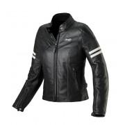 Spidi Ace Leather Lady White Giacca Moto Pelle Donna