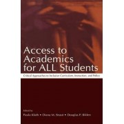 Access to Academics for All Students by Paula Kluth