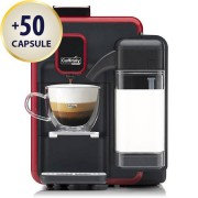 Caffitaly Macchina da caffè Caffitaly System One Touch S22 Red
