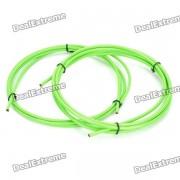 Bicycle Bike Brake Cable Cables Shifter y Escenografia Vivienda - Verde