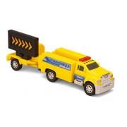 Tonka Road Crew Haulers Telephone Co. Repair Crew Truck Flashing Lights