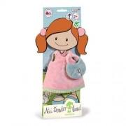 Sukienka krótka dla lalki Minilara plus torebka