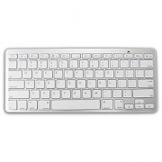 LB1 High Performance New Portable Ultra-Slim Bluetooth Wireless Keyboard for HP 14 C010us Intel Celeron 847 14 Screen Display Chromebook With 2GB Memory 16GB SSD . Chrome OS (White)