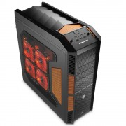 Aerocool XPredator Evil - Black Edition - tour - XL-ATX - Noir diabolique - USB/Audio/E-SATA
