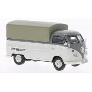 VW T1 plataforma plana de carga con plano, gris , Modelo de Auto, modello completo, Premium ClassiXXs 1:43