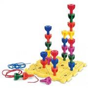 Risorse di apprendimento arcobaleno Peg Play Set di attività