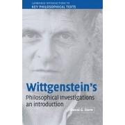 Wittgenstein's Philosophical Investigations by David G. Stern