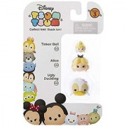 Disney Tsum Tsum Series 3 Tinker Bell Alice & Ugly Duckling 1 Minifigure 3-Pack #313 135 & 345
