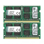 Kingston KVR16S11K2/16 Memoria RAM da 16 GB, 1600 MHz, DDR3, Non-ECC CL11 SODIMM Kit (2x8 GB) 204-pin 1.5 V