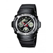 Casio G-Shock AW-590-1AER Orologio Analogico Digitale da Polso da Uomo, Resina, Nero